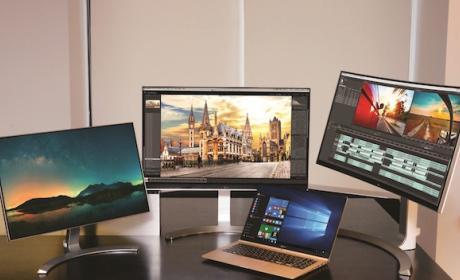 LG presenta nueva línea de monitores y PC