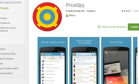 Encontrar cambios de precio: Comparador de ofertas web