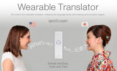 Traductor wearable