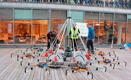 Dron Megacopter