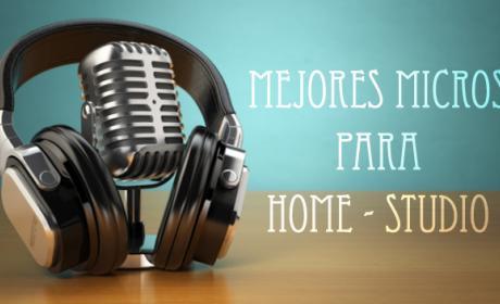 Mejores microfonos para grabar en casa