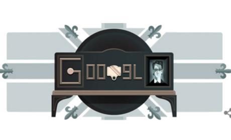 Google doodle: inventor television mecanica