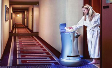 Robot servicio de habitaciones