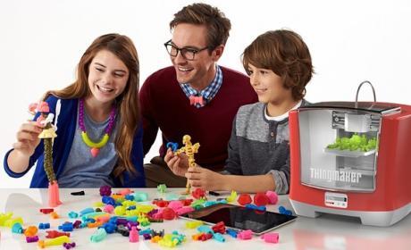 Mattel ThinkMaker, la impresora 3D para niños que imprime juguetes