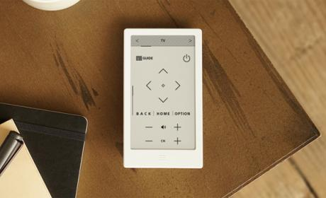 Sony Huis, un mando con pantalla de tinta electrónica