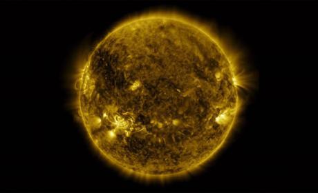 La NASA publica un vídeo que recoge un año solar