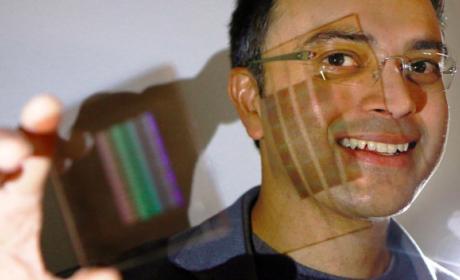 lente plana ultra delgada