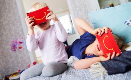 Gafas realidad virtual macdonalds