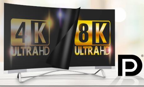 Displayport 1.4 con 8K y usb C