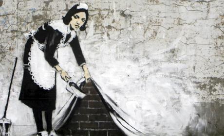 La identidad del famoso graffitero Bansky podría haber quedado al descubierto