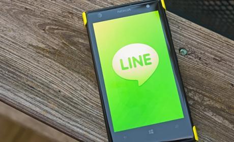 Chat grupales en LINE