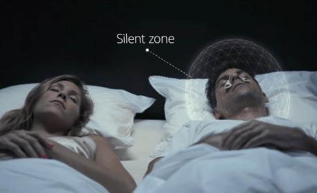 Este dispositivo puede silenciar cualquier ronquido