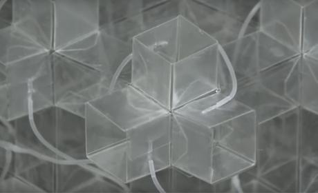 Un nuevo material 3D ultrarresistente que cambia de forma