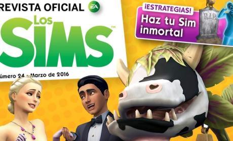 Revista Oficial de los Sims 24 para iOS y Android, descárgala gratis