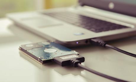 Convierte cualquier disco duro SATA en un disco duro externo