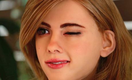 Así es la Scarlett Johansson robótica
