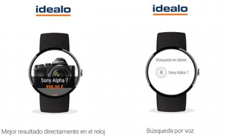 idealo app para Android Wear
