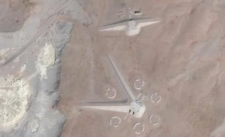 Misterioso edificio descubierto en Egipto gracias a Google Maps
