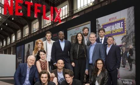 El elenco de Netflix se reúne en el mayor evento de Europa