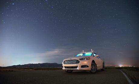 Ford prueba su coche autónomo en la oscuridad