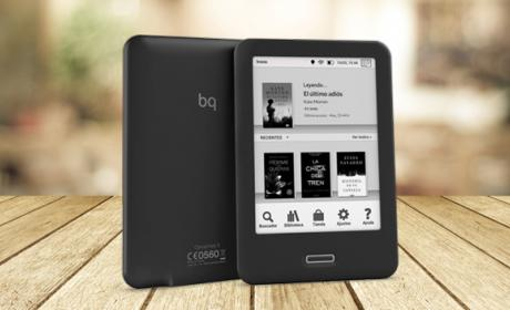 BQ lanza el Cervantes 3, un e-reader de última generación