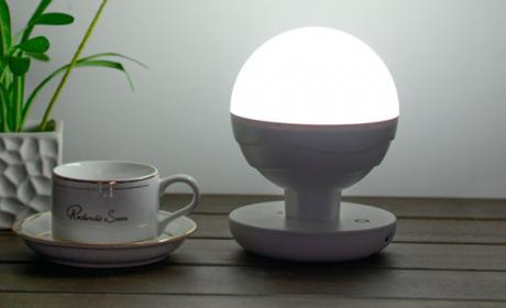 ANNT LED, la lámpara táctil que va contigo