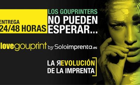Soloimprenta.es lanza el sistema de impresión digital Gou Digital Print