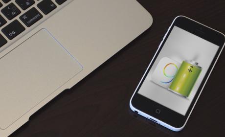batería en iPhone con iOS 9