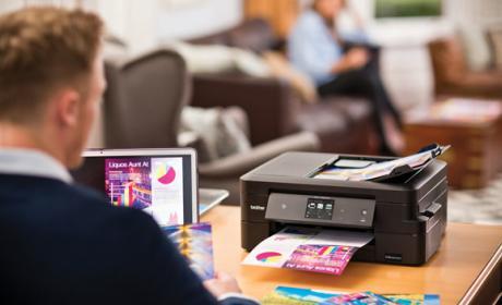 La tinta de esta impresora te ofrece dos años de autonomía