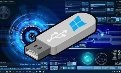 Windows 10 recuperación usb copia