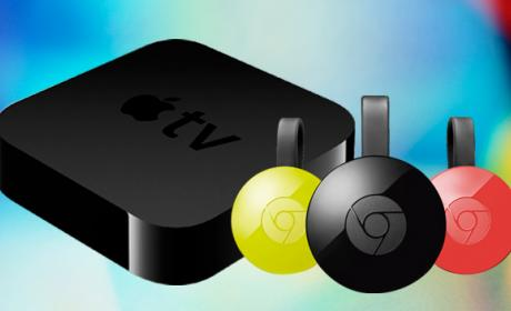 Comparativa Apple Tv Chromecast