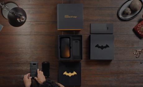 Samsung lanza una edición especial del S7 inspirada en Batman