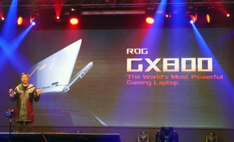 ASUS revela un portátil con dos GPUs y refrigeración líquida