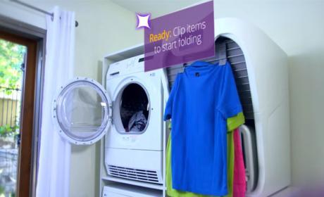 maquina dobla ropa