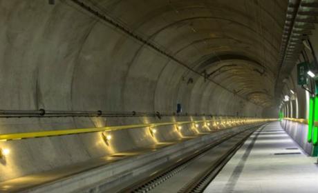 El túnel de San Gotardo, el más largo y profundo del mundo