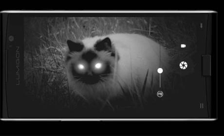 Lumigon T3, el primer móvil con cámara de visión nocturna