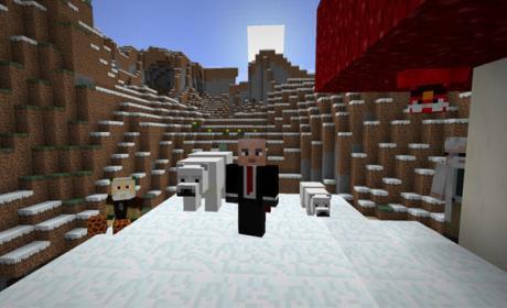 Minecraft ya te permite enfrentar a osos polares