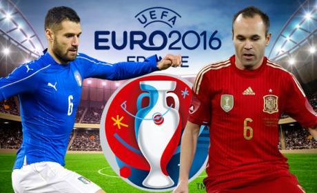 España Italia online en directo por streaming en Internet gratis de la eurocopa