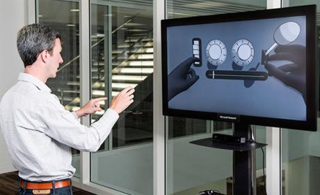 control gestos ordenador microsoft