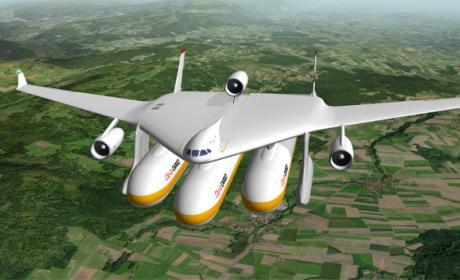 Un avión modular para viajar por tierra, mar y aire