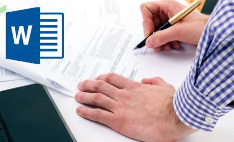 Crea formularios editables con Word 2013