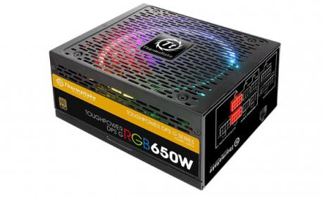 Thermaltake anuncia su nueva serie Toughpower DPS G RGB Gold