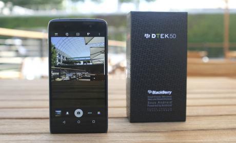 BlackBerry DTEK50, ¿el móvil Android más seguro del mundo?