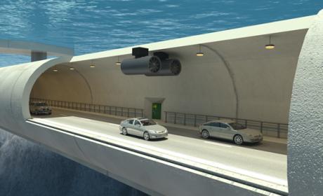 Noruega estudia construir puentes flotantes sumergidos