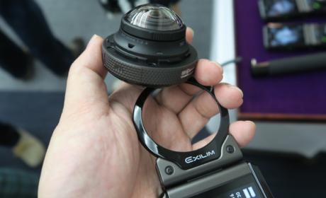 Casio entra en el mercado de las cámaras de 360 grados