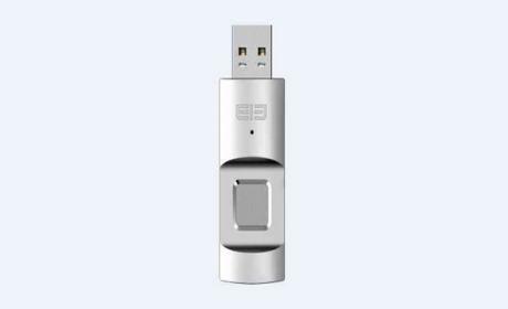 Elephone U Disk, el pendrive USB más seguro con lector de huellas