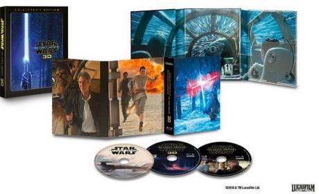 Star Wars El Despertar de la Fuerza en 3D, con nuevas escenas y extras
