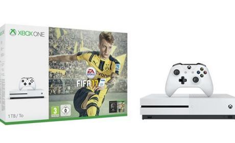 Xbox One S con FIFA 17 gratis por 299 euros