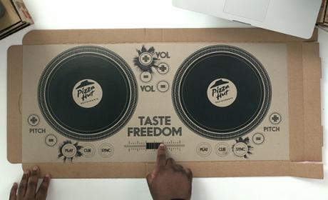 Tu próxima pizza podría convertirse en un mesa de mezclas DJ