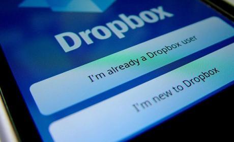 Cambio contraseña dropbox